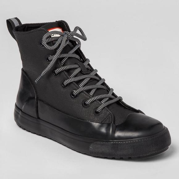 sneaker rain boots